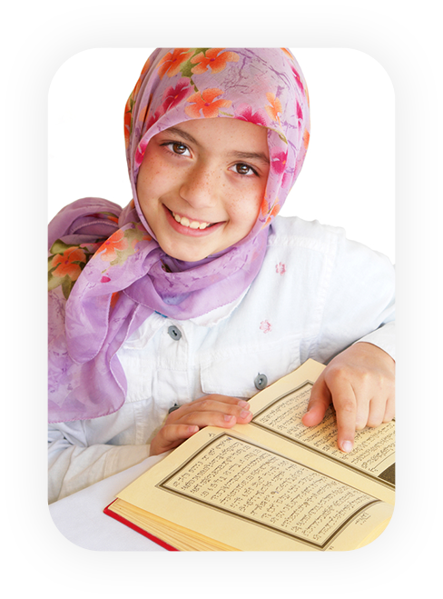 kid learning quran course